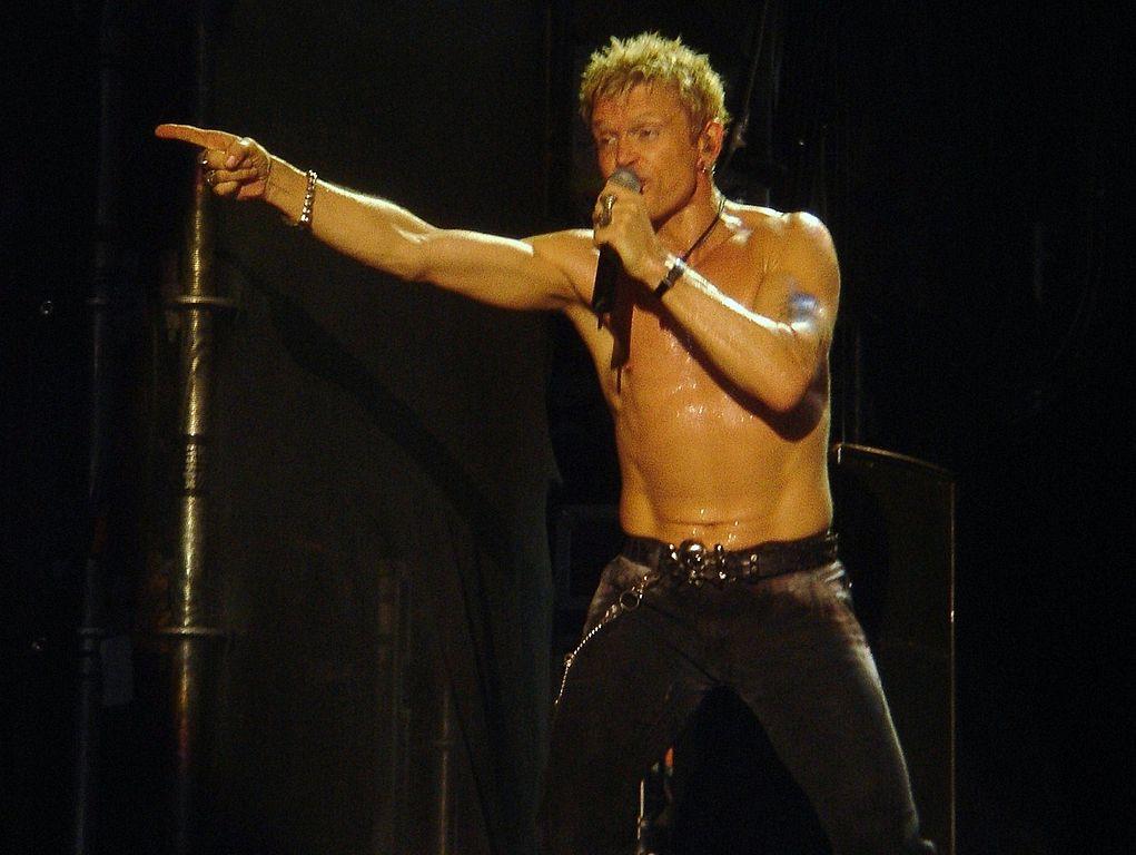 Billy Idol till Gröna Lund