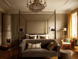 rum på ett hem stockholm