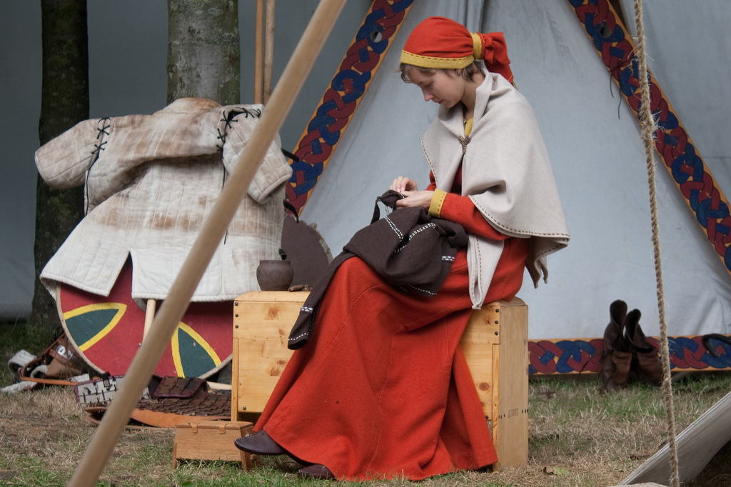 Upptäck det vikingatida livet