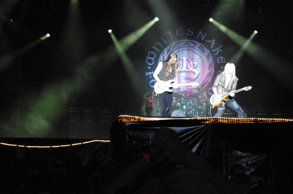 Whitesnake och Europe till Stockholm