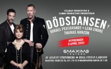 Dödsdansen med Mikael Persbrandt, Lena Endre och Thomas Hanzon har nypremiär på Maximteatern
