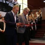 Frank Fiskers, VD och Koncernchef Scandic, och Lars Sandberg, inviger Haymarket by Scandic