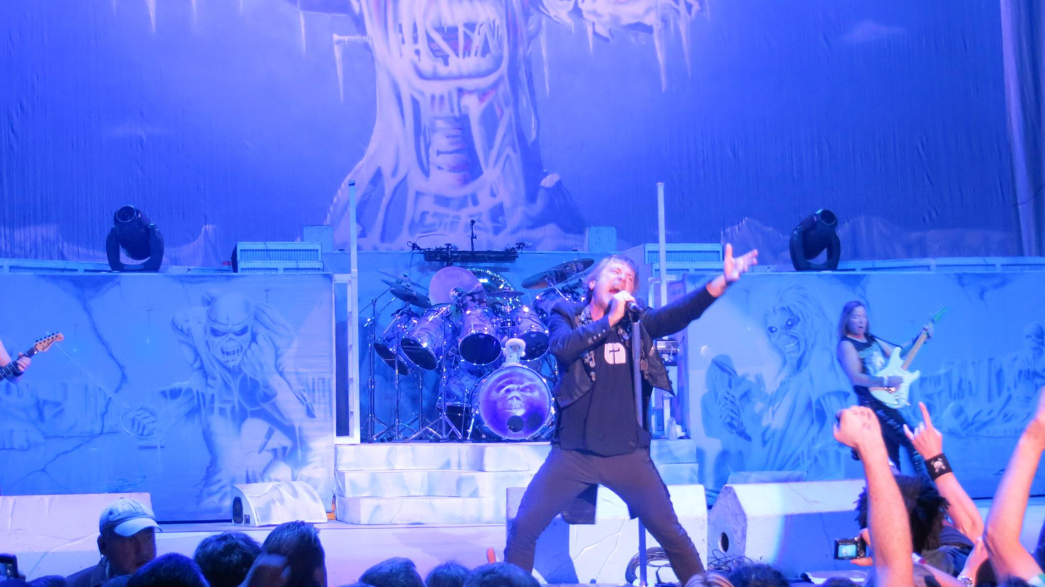 Iron Maiden till Tele2 Arena