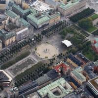 Kungsträdgården är start och mål för RunStockholm
