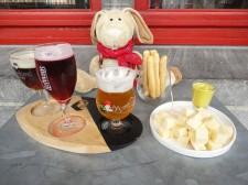 Ost och öl smakar bra tillsammans