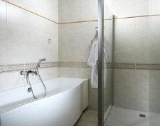 badkar på hotell