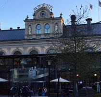 Berns Hotel vid  Berzelii Park i Stockholm