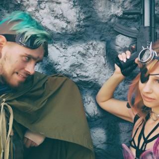 Testa cosplay på Comic Con Stockholm