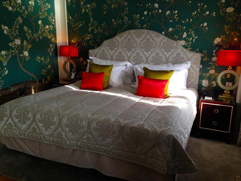 Superior rummens härliga säng på Grand Hôtel