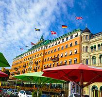 Grand Hôtel lyxhotell i centrala Stockholm
