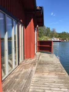 Smådalarö Gård havsbastu och Båt