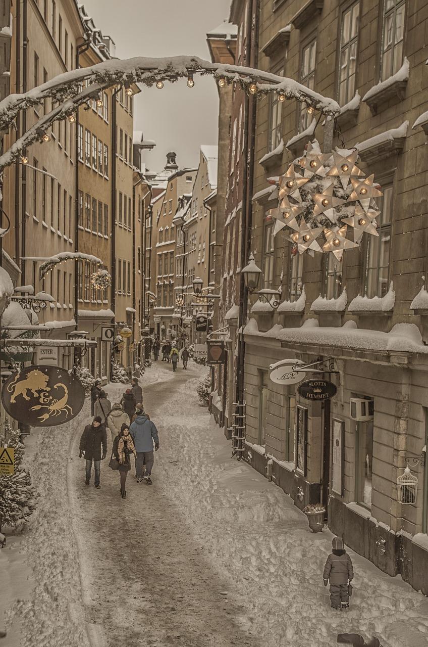 Få julkänsla i Stockholm