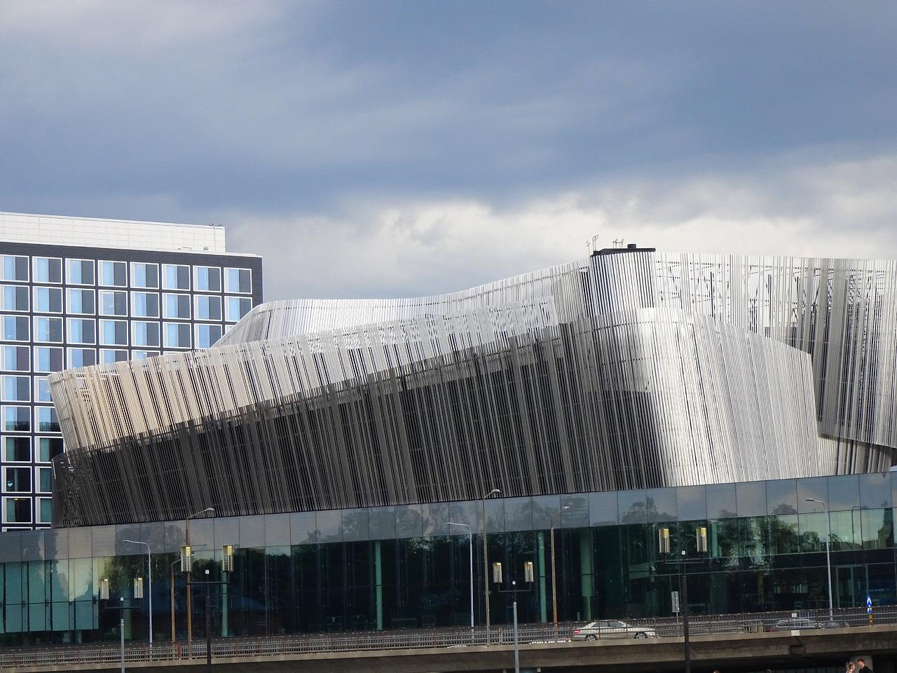 Vackra och unika byggnader i Stockholm