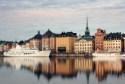 Stockholm city vid vattnet