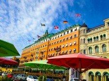 Lyxhotellet Grand Hôtel i Stockholm city