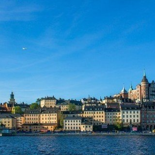 Vackra byggnader i Stockholm
